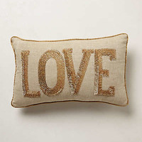 Shimmered Sentiments Pillow