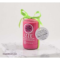 Soda Candle Izze Sparkling Blackberry Bottle Recycled