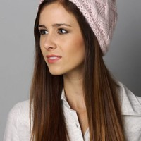 Sunny Disposition Basket Beanie Hat in Fashionable Colors
