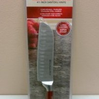 Kitchenaid 4 ½ Inch Stainless Steel Santoku Knife Red