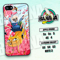 Adventure Time, Finn and Jake, iPhone 5 case, iPhone 5C Case, iPhone 5S case, Phone case, iPhone 4 Case, iPhone 4S Case, Phone Skin, AT03