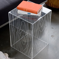 Magical Clear End Table