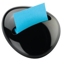 Post-it Pop-up Notes Dispenser for 3 x 3-Inch Notes, Pebble Collection by Karim, Assorted Colors