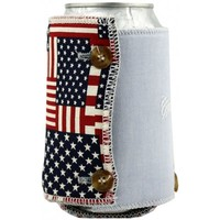The Betsy Koozie in American Flag and Blue Oxford by the Frat Collection