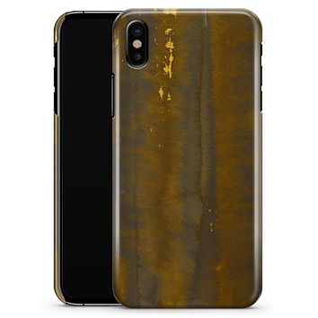 Dark Gold Reflection with Gold Specks - iPhone X Clipit Case
