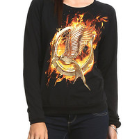 The Hunger Games: Catching Fire Mockingjay Girls Pullover Top