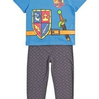 Clothing at Tesco | Mike the Knight Dress-up pyjama set > nightwear > Younger boys (1-7years) >