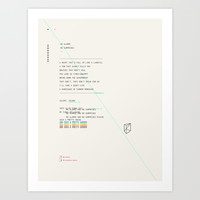 No Alarms Art Print by Craft And Graft