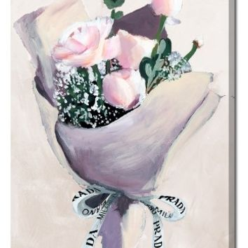 Oliver Gal Delivery for Her Canvas Wall Art | Nordstrom