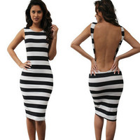 Summer Sexy Slim Backless Dress Gift 50