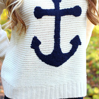 The Sailor's Way Sweater - Ivory