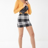 UO Out To Play Plaid Mini Skirt | Urban Outfitters