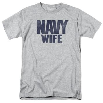 Navy - Wife Short Sleeve Adult 18/1