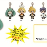 Vocaloid - Miku and Friends Character Mascot Keychains Set of 6 [TL300813802] : ToysLogic, Otaku for LIFE