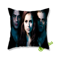 The Vampire Diaries Square Pillow Cover