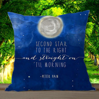 Disney New Peter Pan Quote for Pillowcases