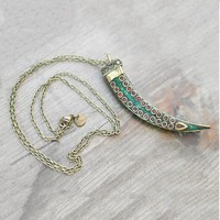 Stevie Turquoise Necklace