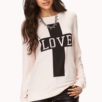 Love Cross Sweatshirt