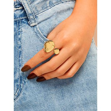 1pc Figure Decor Ring
