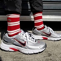 NIKE Air Max 200 Retro Men Women Leisure Sport Running Shoes Sneakers Silvery&Red