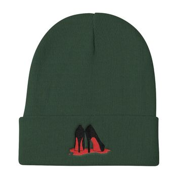 Bloody Shoes Knit Beanie