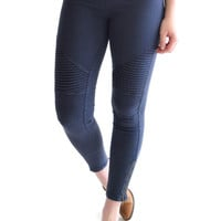 Sierra Moto Leggings Midnight