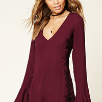 Embroidered Woven Romper