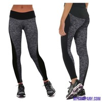High Quality Running Tights Elastic Compression Yoga Pants S-3XL