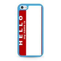 Hello My Name Is iPhone 5C case