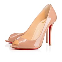 Yootish 100 Nude Patent Leather - Women Shoes - Christian Louboutin