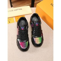 lv louis vuitton womans mens 2020 new fashion casual shoes sneaker sport running shoes 172