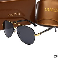 GUCCI Fashion Men Women Summer Sun Shades Eyeglasses Glasses Sunglasses 2#