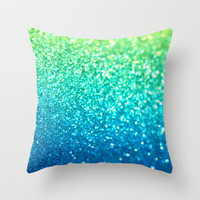 Seaside Throw Pillow by Lisa Argyropoulos