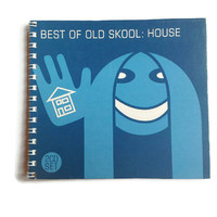 The Best Of Old Skool House Note book Free UK Postage Reworked CD Box 70 lined pages great gift blue