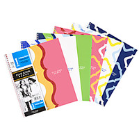 Five Star Style Notebook 8 12 x 11 1 Subject College Ruled 50 Sheets Assorted by Office Depot