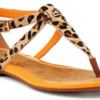 Sperry Top-Sider Summerlin Thong Sandal LeopardPony, Size 5.5M  Women's