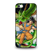 DRAGON BALL Z SON GOKU SHENRON iPhone SE Case Cover