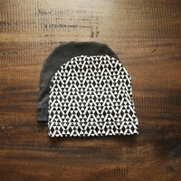 Baby or toddler hats (beanies) great for a boy or girl choose a fabric from the shop