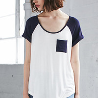 Me To We Color Block Raglan T-Shirt at PacSun.com
