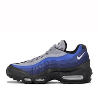 NIKE AIR MAX 95 ESSENTIAL - BLACK / BINARY BLUE
