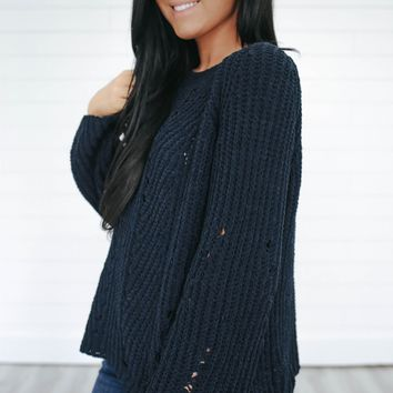Truly Devoted Sweater
