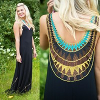Lady Of The Tribe Maxi Dress