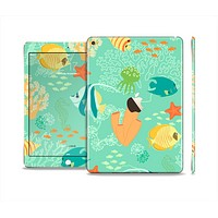 The Colorful Bright Saltwater Fish Skin Set for the Apple iPad Pro