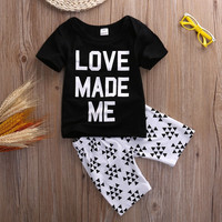Love Made Me Shorts 2pc Outfit
