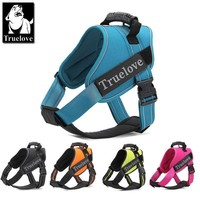 Truelove Firm Dog Harness with Heavy Duty Handle