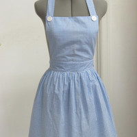 Last One-Dorothy from the Wizard of Oz Apron - Follow me to the Yellow Brick Road - Ready to ship