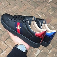 Dior GG Low Men's and Women's Flat Sneakers Shoes