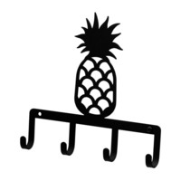 Wrought Iron Pineapple Key Holder Key Hooks