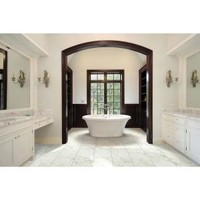 MS International Carrara 12 in. x 24 in. Glazed Porcelain Floor and Wall Tile (16 sq. ft. / case) NHDCAR1224 at The Home Depot - Mobile