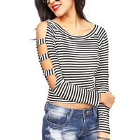 Retro Banded Top